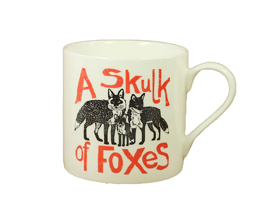 Collective Noun Mug – Foxes