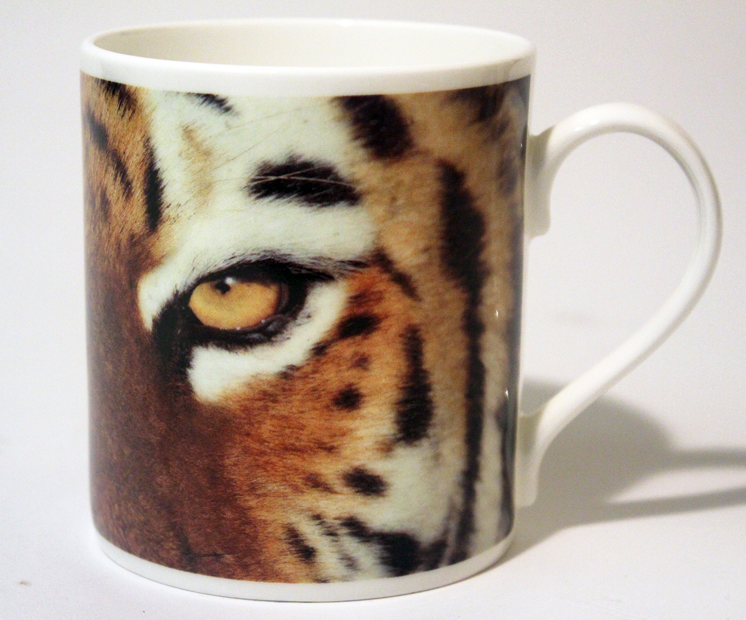 China Mug – Tiger Eyes