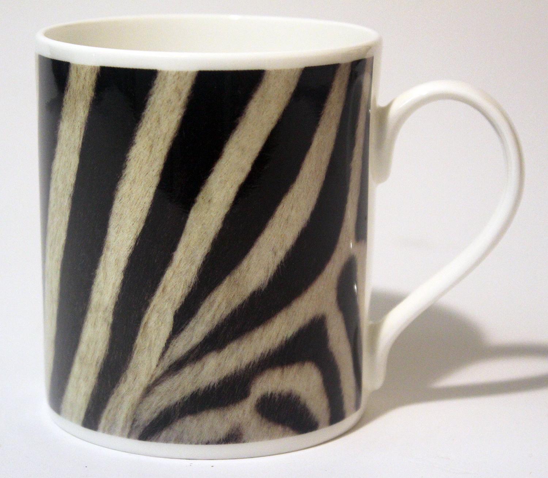 China Mug – Zebra Skin