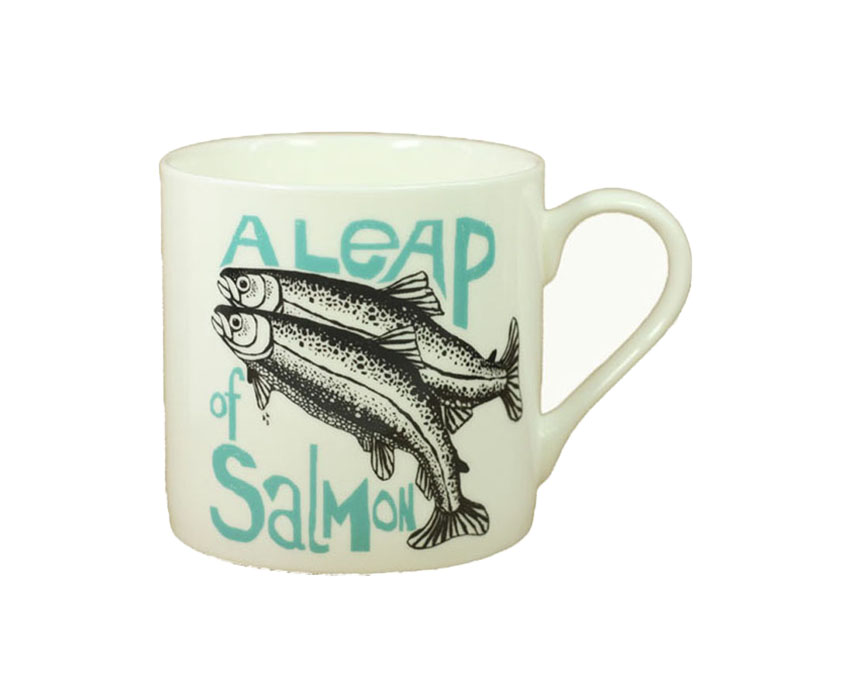 Large Collective Noun Mug – Salmon