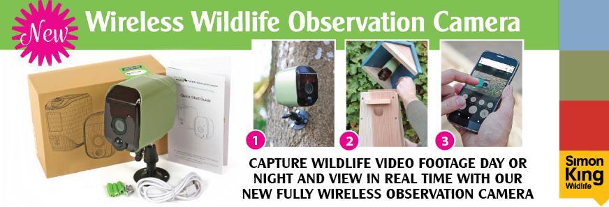 Wireless Wildlife Observation Camera