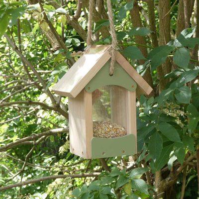 The Bird Barn bird feeder