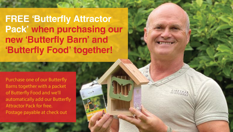 simon king butterfly special offer