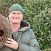 Simon King with his Wreath Nester
