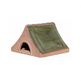 Ceramic Frog And Toad House