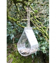 Dewdrop Wild Bird Window Feeder