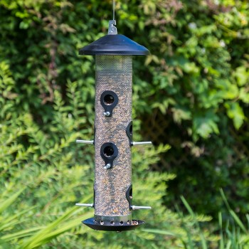 Giant hanging seed feeder