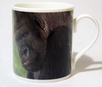 China Mug Gorilla Front & Back