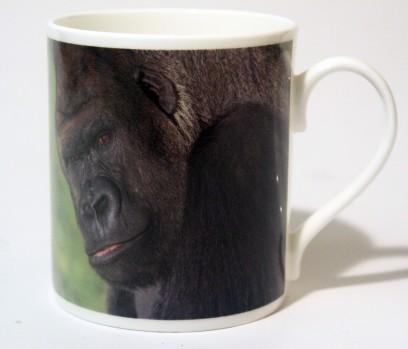 China Mug Gorilla Front & Back