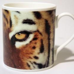 China Mug – Tiger Eyes