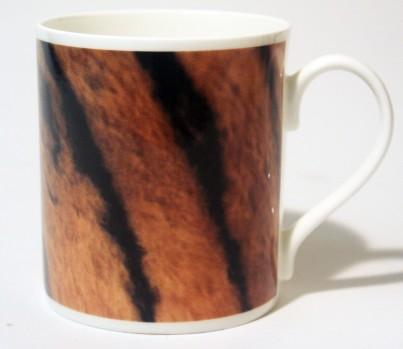 China Mug Tiger Skin