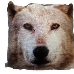 43cm Cushion – Wolf