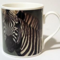 China Mug – Zebra Front & Back