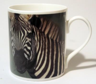 China Mug - Zebra