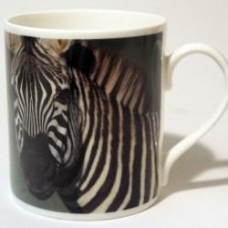 China Mug – Zebra Front & Back