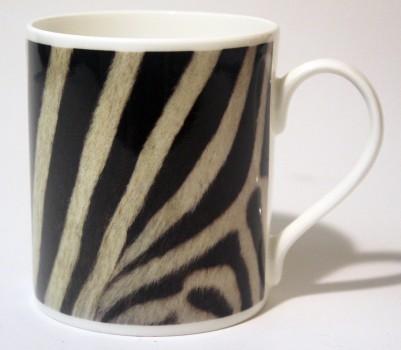 China Mug - Zebra Skin