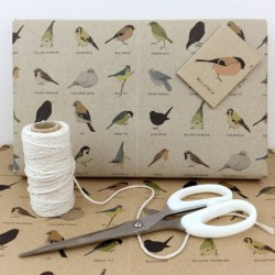 Garden Bird Gift Wrap Set