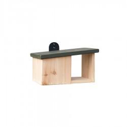 Wooden Robin Nester